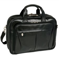 R Series Pearson Leather Laptop Briefcase