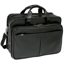 R Series Walton Leather Laptop Briefcase