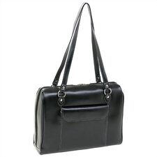 <strong>McKlein USA</strong> Limited Edition Series Glenview Leather Ladies' Laptop Tote Bag