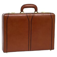 V Series Lawson Leather Attaché Case