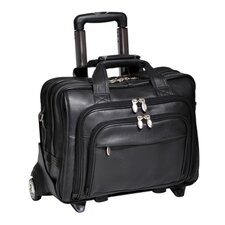 I Series Gold Coast Leather Laptop Briefcase