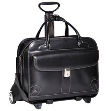 <strong>McKlein USA</strong> W Series Lakewood Leather Laptop Catalog Case