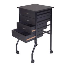 "28"" Mobile Taboret"