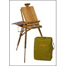 Jullian Full Size Wooden French Sketch Box Easel in Elm Wood