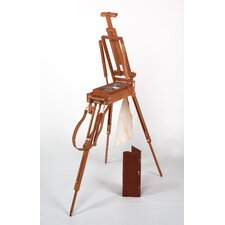 <strong>Martin Universal Design</strong> Jullian of Paris Half Size Wooden French Sketch Box Easel in Mahogany