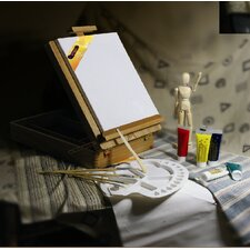 Mario's Deluxe Easel Box Oil Art Kit