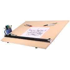 Pro Draft PEB Wood Grain Drawing Table Kit