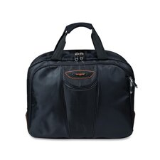 "Large Briefcase, Fits 15.6"" Laptops, 17""x8""x14"", Black"