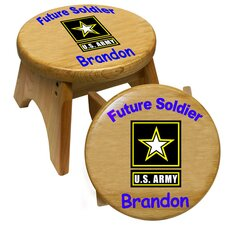 Army Kid's Stool