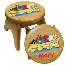 Noah's Ark Kid's Stool