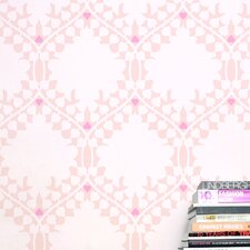 Leaf Damask Wallpaper (Set of 2)