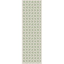 Native Ivory/Sea Foam Geometric Area Rug