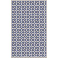 Native Cobalt Area Rug