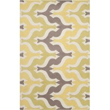Aimee Wilder Yellow Area Rug