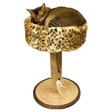 <strong>Ware Mfg</strong> Wildcat Scratch-N-Sleep Scratching Post
