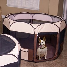 Delux Pop-Up Dog Pen