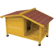 Tuscan Courtyard Dog House