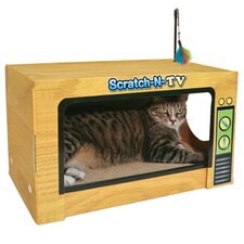 <strong>Ware Mfg</strong> Scratch-N-Television Cat Scratcher