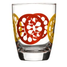 Juicy Glass in Red (Set of 4)