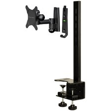 "<strong>Level Mount</strong> Full Motion Desktop Mount with 6.5"" Extension (Up to 30"" Screens)"
