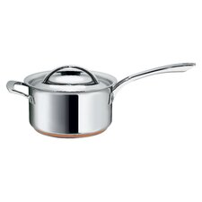Stainless Steel 20 cm Saucepan with Helper Handle