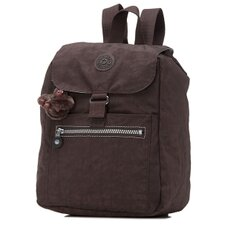 Basic Solid Scoop Medium Backpack