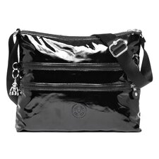 <strong>Kipling</strong> Alvar Patent Cross-Body Bag