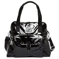 Pahneiro Patent Satchel Bag