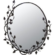 <strong>Quiescence</strong> Aspen Oval Mirror