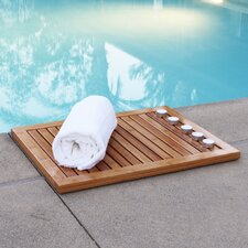 <strong>Oceanstar Design</strong> Bamboo Floor and Shower Mat