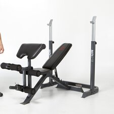 <strong>Marcy</strong> 2 Piece Mid Adjustable Olympic Bench