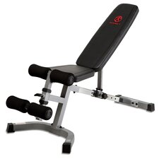 Adjustable Utility Bench with Leg Hold-Down Pads