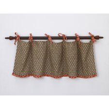 Peggy Sue Cotton Curtain Valance