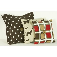 <strong>Cotton Tale</strong> Houndstooth Pillow (Set of 3)