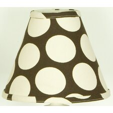 <strong>Cotton Tale</strong> Raspberry Dot Lamp Shade