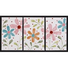<strong>Cotton Tale</strong> Lizzie 3 Piece Wall Art