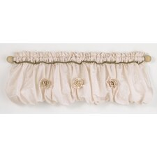Lollipops and Roses Cotton Curtain Valance