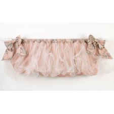 Nightingale Cotton Blend Rod Pocket Ruffled Curtain Valance