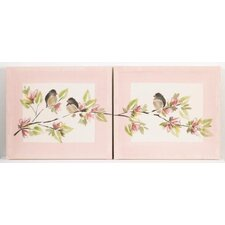<strong>Cotton Tale</strong> Nightingale Wall Art (Set of 2)