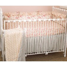 Tea Party 4 Piece Crib Bedding Set