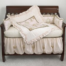 <strong>Cotton Tale</strong> Lollipops and Roses 4 Piece Crib Bedding Set