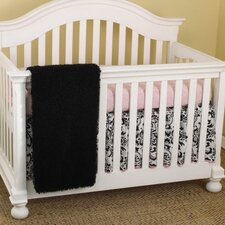 Girly 3 Piece Crib Bedding Set
