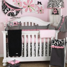 Girly Crib Bedding Collection