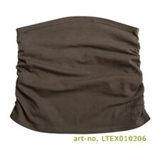 Belly Band in Chocolate Ruffled