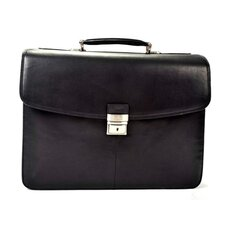 <strong>Tony Perotti</strong> Gaetano Leather Laptop Briefcase