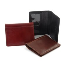 Italico Ultimo Wallet with Removable Credit Card Case
