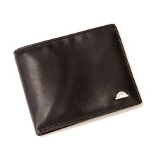 Oronero Executive Bi-Fold Wallet in Black