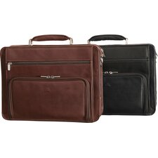 The Green Collection Ultimo Laptop Double-Pocket Zip-Around Briefcase