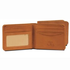 The Green Collection Prima Bi-Fold Wallet with ID Window