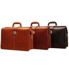 "Italico Benevento 17"" Triple Gusset Lawyer's Briefcase"